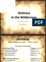 4. Holiness in the Wilderness