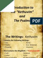 14. Intro to the Writings - Kethuvim