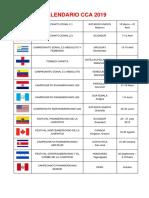 Calendario Panamericano