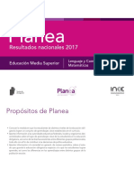 Resultados de Planea 2017