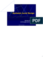 Systemic Level Design Harvey Smith