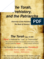 2. The Torah, Prehsitory, and Patriarchs.pptx