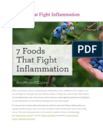 AntiInflammatory Diet 101 Fight Inflammation Naturally
