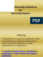 General Internship Guidelines 1