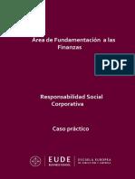 Caso Práctico - Responsabilidad Social Empresarial