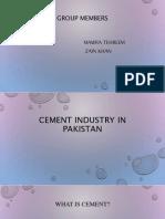 Cementindustryinpakistan 150627154604 Lva1 App6892
