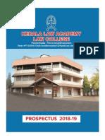 KLA Prospectus 2018 19