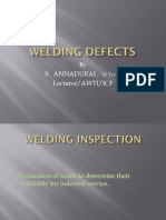 Welding Defects and Acceptance