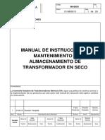 COMTRAFO - MI-0003 - Manual Transformador en Seco