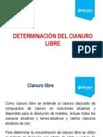Determinacion Del Cianuro Libre