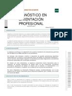 Diagnóstico Enorentacion Profesional