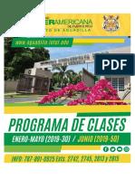programa clases