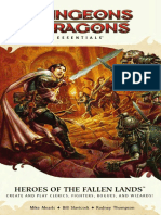 D&D4e Heroes of the Fallen Lands & Forgotten Kingdoms
