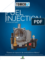 Catalogo Tomco Fuel Injection 2019