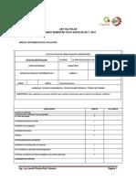 Instrumentos de Evaluacion Quimica II