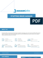 Aasaanjobs Staffing Deck - Jun 2018