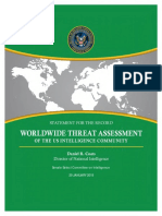 Report on Worldwide Threat Assessment