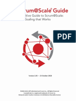 Scrum Scale Guide
