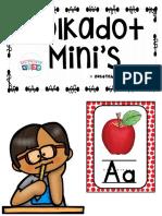 Alphabet Word Wall Cards ABC Chart