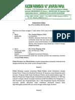 Surat Perjanjian Kerja Dosen - Frans Magang 2