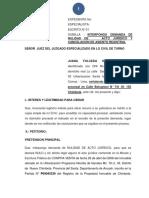 Demanda de Nulidad de Acto Juridico Molina (1)