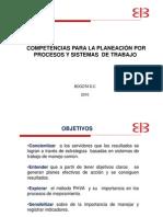 Competencias procesos