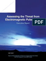 2017 Executive Report on Assessing the Threat From EMP FINAL April2018