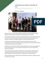 17-01-2019 -Dota Sedesson de infraestructura básica a familias de Nacozari y Fronteras - Canalsonora.com