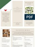 diet mediterranean brochure
