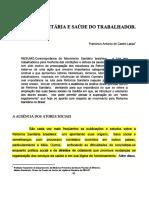 LACAZ - Reforma Sanitaria e Saúde do Trabalhador