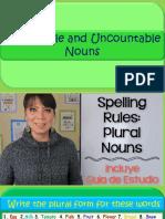 Countable and Uncountable Nouns Carlos Cabrera