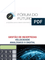 Agenda Fórum do Futuro 2019
