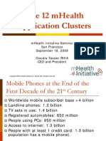 Mhealth 12 Apps