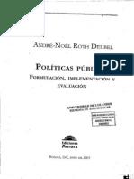 Anexo 4 Politicas P+¦blicas - Formulaci+¦n, Implementaci+¦n y Evaluaci+¦n