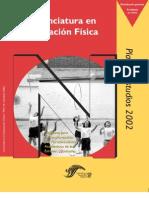 Plan 2002 Educación Física