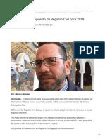 08-01-2019 - Disminuyen presupuesto de Registro Civil para 2019 - UniradioNoticias.com