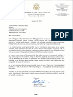 Rush Sends Letter to FBI Director Calling for Hate Crimes Investigation of Attack on Jussie Smollett
