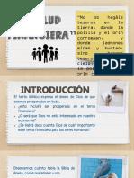 Salud Financiera. TEMA