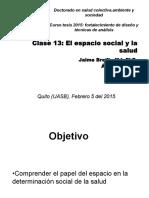 Clase13PhDCurso JBreilh 05 02 2015
