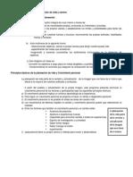 EJERCICIOS - Cuestionario Personal