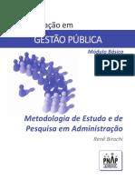 PNAP - 2014 Modulo Basico - GP - Metodologia de Estudo e de Pesquisa Em Administracao