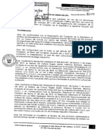 Presentan moción de interpelación contra ministro de Cultura Rogers Valencia