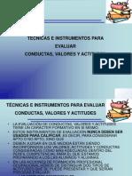 Piologia Trabajo Evaluacion Conductas