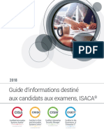 2018 ISACA Exam Candidate Information Guide Exp Fra 0518