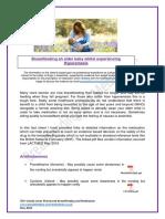 Hyperemesis and Breastfeeding Fact Sheet