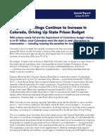 Colorado Criminal Justice Reform Coalition Special Report
