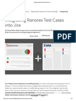 Integrating Ranorex Test Cases Into Jira