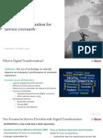 Digital Transformation for Service Providers