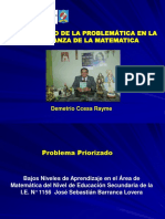 Diagnostico de La Problematica en La Enseñanza de La Matematica Ccesa007