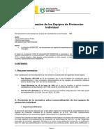 Comercializacion de Equipos Proteccion Rd 1407